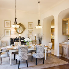 Traditional Dining Room by Karen Dietz Interiors