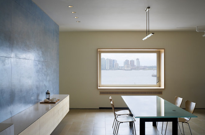 Modern Dining Room by Ann Marie Baranowski Architect PLLC
