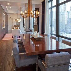 Modern Dining Room by CCS ARCHITECTURE
