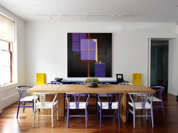 Contemporary Dining Room by Nexus Designs