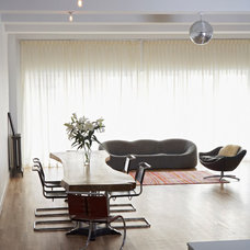 Contemporary Dining Room by Warren Red