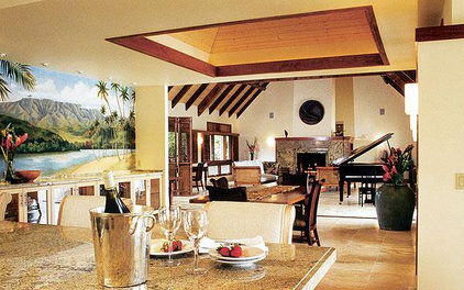 tropical dining room Trigg-Smith Architects - Project - A Classic Tropical Home