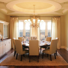 Traditional Dining Room by Superior Moulding of Nevada