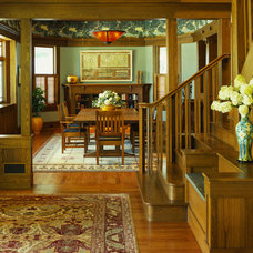Craftsman Dining Room by Gardner Mohr Architects LLC