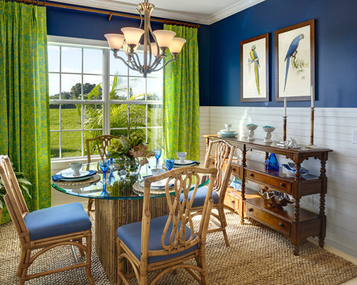 green dining rooms | houzz