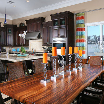 Tropical Kitchen & Dining area