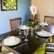 Tropical Dining Room by If Walls Could Talk