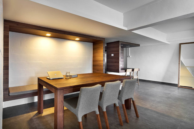 Contemporary Dining Room by The Design Abode