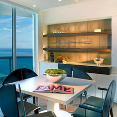 Contemporary Dining Room by Britto Charette Interiors - Miami Florida
