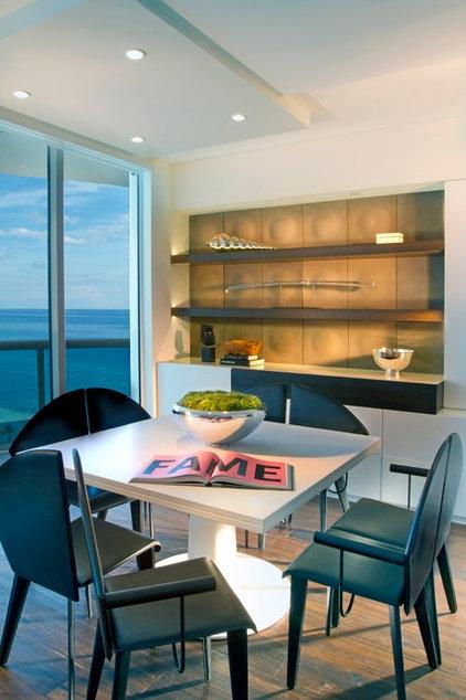Contemporary Dining Room by Britto Charette Interiors - Miami Florida