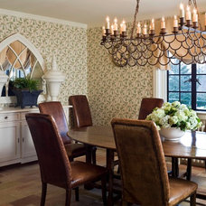 Traditional Dining Room by Interior Archaeology