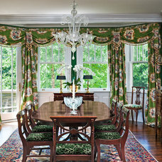 Traditional Dining Room by Eberlein Design Consultants Ltd.