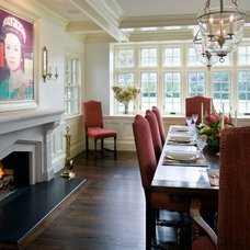 Traditional Dining Room by 1 plus 1 design