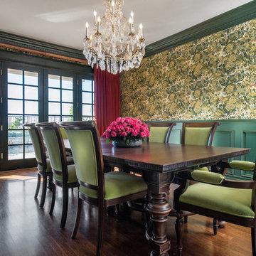 Tudor Revival Dining Room