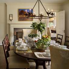 Traditional Dining Room by Philip Ivory Architects