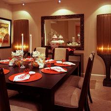 Modern Dining Room by CIH Design