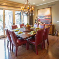 Traditional Dining Room by Wayne Bernskoetter Construction