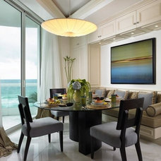 Contemporary Dining Room by Design Elements