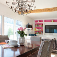 Contemporary Dining Room by Jeri Koegel Photography