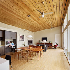Contemporary Dining Room by Boor Bridges Architecture