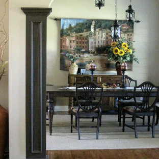 Tuscan dining room photo in Las Vegas