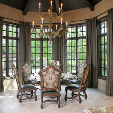 Mediterranean Dining Room by House of L Interior Design