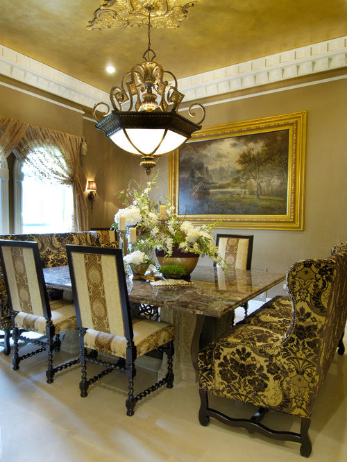 Tuscan style home for Tuscan dining room ideas