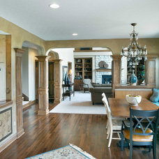 Traditional Dining Room by DiYanni Custom Homes