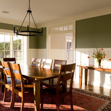 Traditional Dining Room by Gulfshore Design