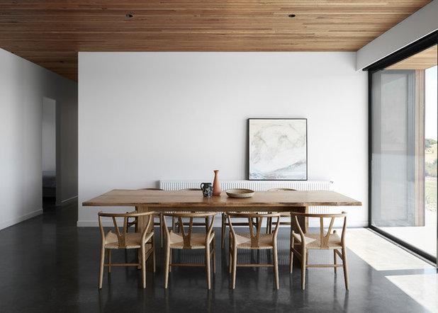 コンテンポラリー ダイニング by Tom Robertson Architects