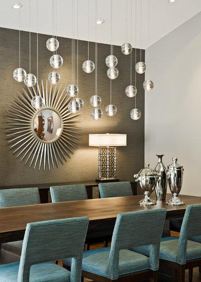 Midcentury Dining Room by Peterssen/Keller Architecture