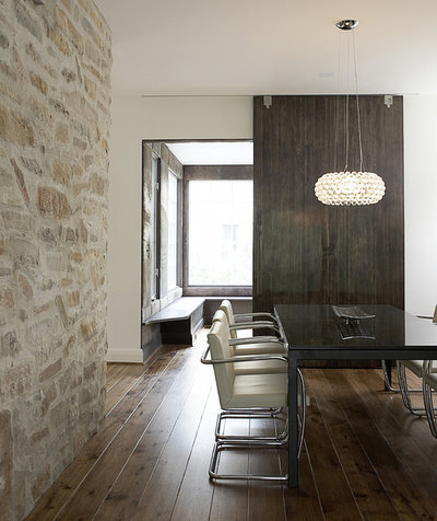 Contemporary Dining Room by Michael Abraham Architecture