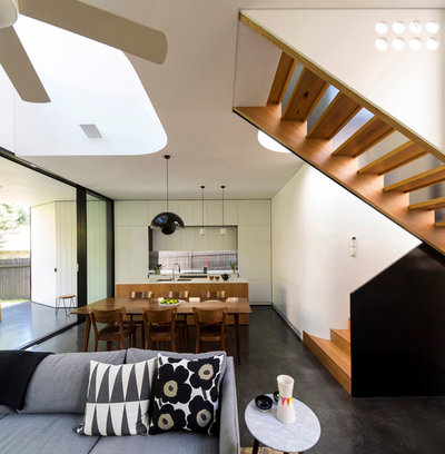 Modern Dining Room by Christopher Polly Architect