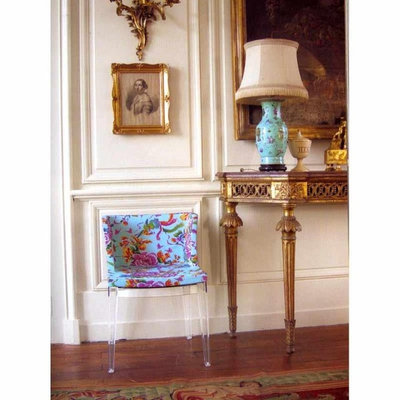 Traditional Dining Room Unica Home   Mademoiselle Chair By Kartell