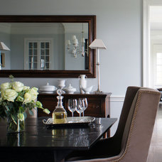 Traditional Dining Room by Christopher Burns Interiors