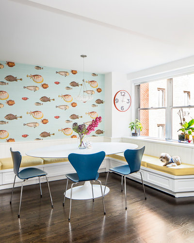 Houzz Tour Cool Blues And A Streamlined Design