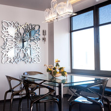Contemporary Dining Room by Sapna Mundra