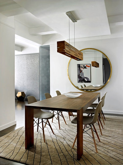 Contemporary Dining Room by Noha Hassan Designs
