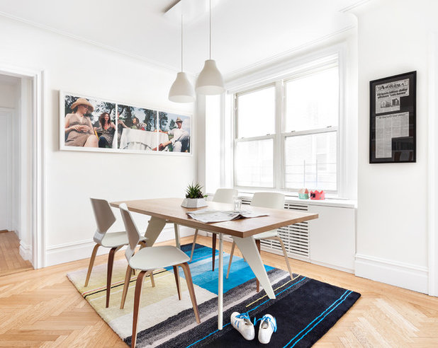 Contemporary Dining Room by weetu