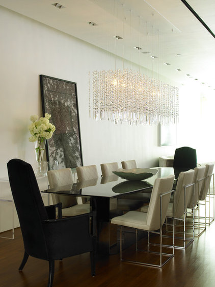 contemporary dining room by Jarlath Mellett
