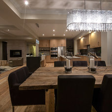 Contemporary Dining Room by Averton Homes