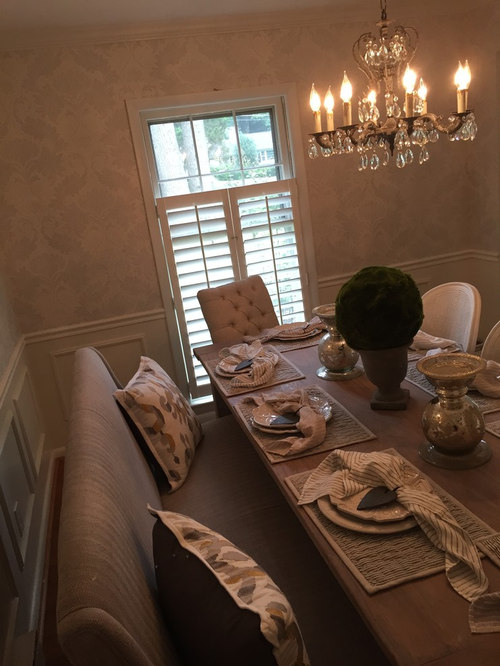 Save Upscale Farmhouse Dining Room Great Falls