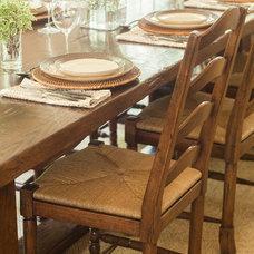 Rustic Dining Room by jamesthomas, LLC