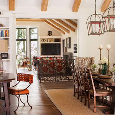 Rustic Dining Room by jamesthomas, LLC