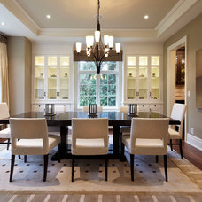 Contemporary Dining Room by Parkyn Design