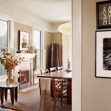 Traditional Dining Room by Mark Ashby Design