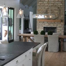 Farmhouse Dining Room by ENJOY Co.