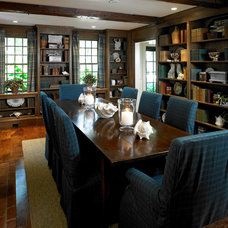 Traditional Dining Room by Patrick Ahearn Architect