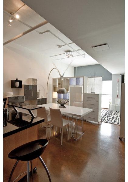 Modern Dining Room by Freespace Design LLC