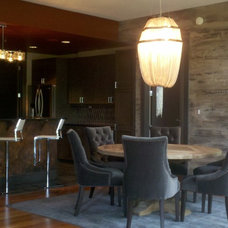 Contemporary Dining Room by nBaxter Design